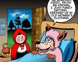 Red Riding Hood cartoon