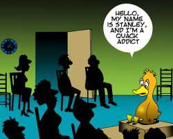 Addictions cartoon