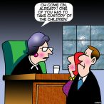Divorce lawyer cartoon