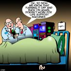 Life support system cartoon