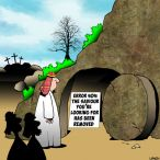 Easter Sunday cartoon