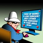 The Lone Ranger cartoon