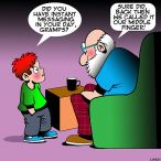 Grandparents cartoon