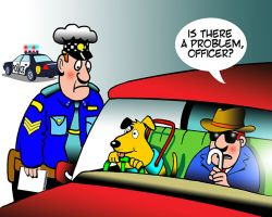 Highway patrol cartoon