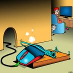 Mousetrap cartoon