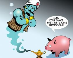 Genie cartoon