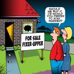 Real estate cartoon