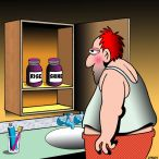Pills cartoon