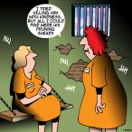 women's prison cartoon