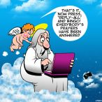 God goes online cartoon