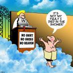 Heaven's gate cartoon