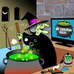 My Cauldron rules cartoon