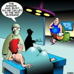 Maternity ward cartoon