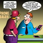 Iphone sales cartoon