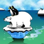 Polar bear cartoon