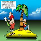 Essay competition cartoon