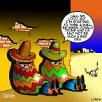 Mexican siesta cartoon