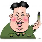 Kim Jung-un cartoon
