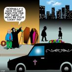 Hearse cartoon