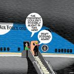 Air force one cartoon