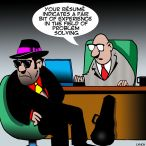 Mafia cartoon