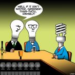 light bulbs cartoon