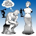 Venus de Milo cartoon
