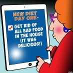 Diets cartoon