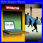 Information highway cartoon