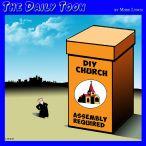 Church assembly cartoon