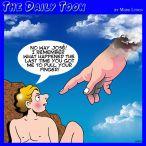 Pull my finger cartoon