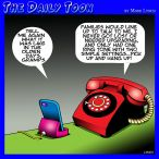 Ring tones cartoon