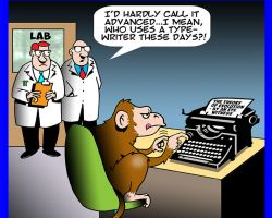 Animal experiments cartoon
