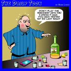 Hangovers cartoon