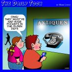 Smart phone cartoon