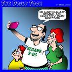 Vegetarian cartoon