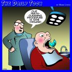 Dental work cartoon