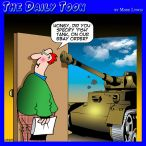Army tank cartoon