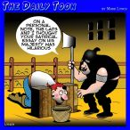 Death penalty cartoon
