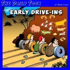Drive-ins cartoon