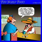 Pensioners cartoon