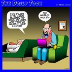 Don't speak English cartoon