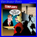 Complaining cartoon
