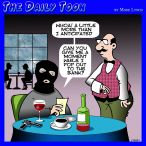 Waiter cartoon