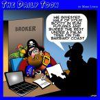 Broker cartoon