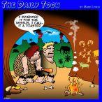 Neanderthal cartoon