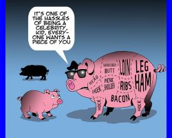 Ham cartoon