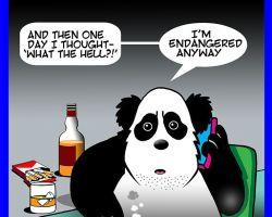 Smoking cartoon