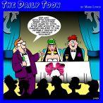 Wedding MC cartoon