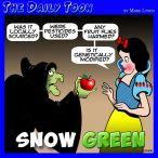 Organic cartoon